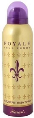 Rasasi Royale Pour Femme Deodorant Spray  -  For Women(150 ml) at flipkart