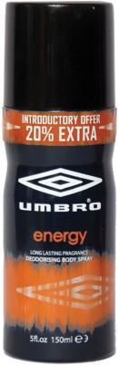 Umbro Energy Body Spray  -  For Men