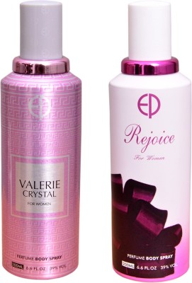 ESTIARA 1 VALERIE CRYSTAL::1 REJOICE Deodorant Spray  -  For Men