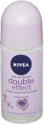 Nivea Double Effect Anti Perspirant (Imported) Deodorant Roll-on  -  For Women