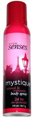 Avon Mystique Sensual and Romantic Body Spray  -