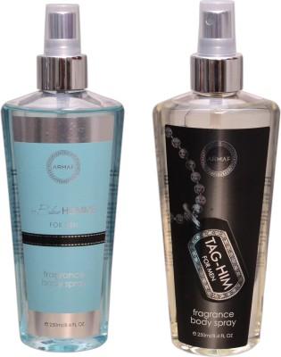 Armaf 1 BLUE HOMME::1 TAG HIM Body Mist  -  For Men, Women(500 ml)