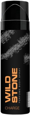 Wild Stone Charge Perfumed No Gas Body Spray 120ml Body Spray  -  For Men