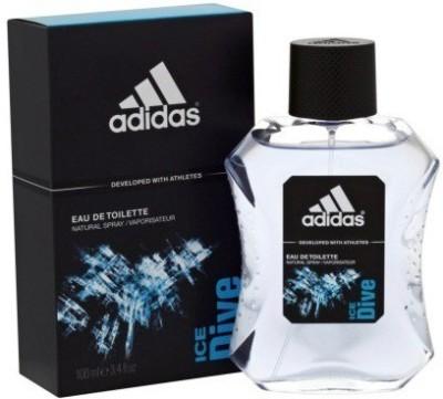 Adidas The Ice Dive EDT Deodorant Spray  -  For Men