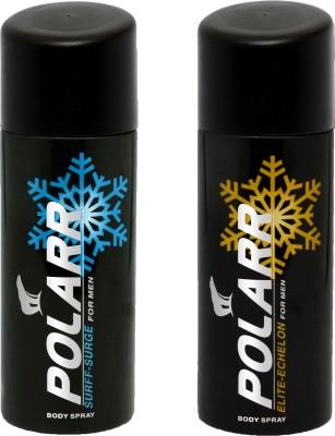 POLARR Surff-Surge, Elite-Echelon Deodorant Spray  -  For Men, Boys