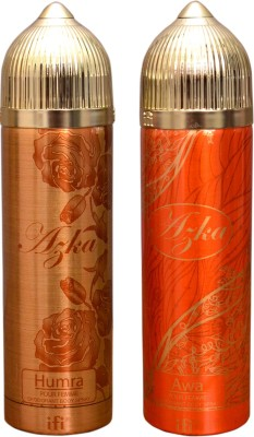 AZKA 1 HUMRA::1 AWA Deodorant Spray  -  For Men, Women