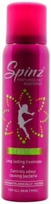 Spinz Exotic Deodorant Spray  -  For Women, Girls