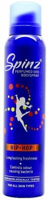 Spinz HipHop Deodorant Spray  -  For Women, Girls