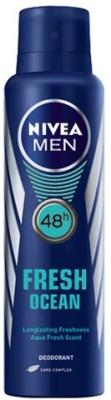 Nivea Men Fresh Ocean 48h Deodorant Spray - For Men