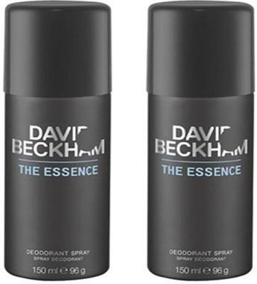 David Beckham 2 The Essence Deodorant Spray  -  For Men