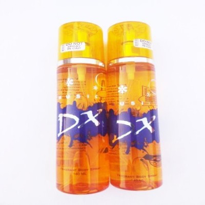 DX Music Deodorant Spray  -  For Boys, Men