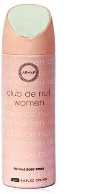 Armaf Club De Nuit Deodorants Body Spray  -  For Women