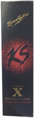 Kamasutra Single X Deo Deodorant Spray  -  For Boys, Girls, Men, Women