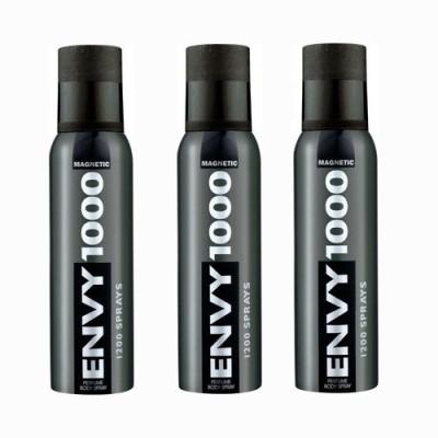 Vanesa Envy Magnetic 1000 Body Spray  -  For Men