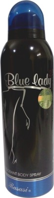 Rasasi Blue Lady 2 Deodorant Spray  -  For Women