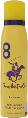 Beverly Hills Polo Club 8 Deodorant Spray - For Women  (150 ml)