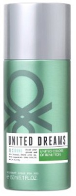 United colors Be strong Deodorant Spray  -  For Men