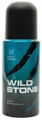 Wild Stone Aqua Fresh Deodorant Spray  -  For Men