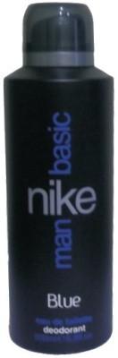 Nike Basic Blue Deodorant Spray - For Men
