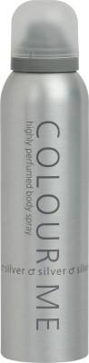 Colour Me Highly Perfumed - Silver Deodorant Spray  -  For Men