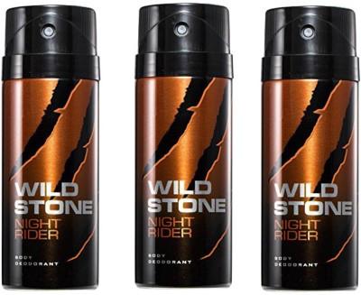 Wild Stone Night Rider Body Spray  -  For Men
