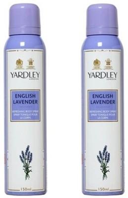 Yardley London English lavender Deodorant Spray  -
