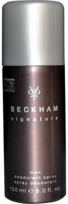 David Beckham Signature Deodorant Spray  -  For Boys(150 ml) at flipkart