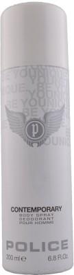 Police Contemporary Deodorant Spray  -  For Men