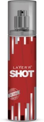 Layerr Shot - Red Stallion Deodorant Spray - For Men, Boys(135 ml)