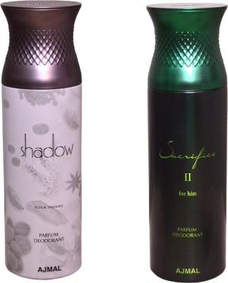 AJMAL 1 SHADOW FOR HIM::1 SACRIFICE II FOR HIM Deodorant Spray  -  For Men
