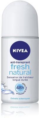 Nivea Fresh Natural Deodorant Roll-on  -  For Men & Women(45 ml) at flipkart