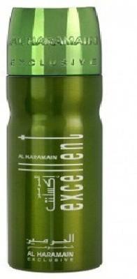 Al Haramain Excellent Green Body Spray  -  For Men