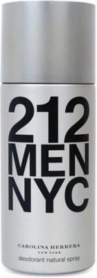 Carolina Herrera 212 Deodorant Spray  -  For Men