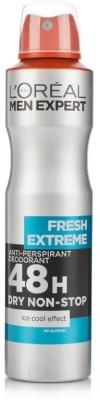 L,Oreal Paris Fresh Extreme 48 H Deodorant Spray  -  For Men