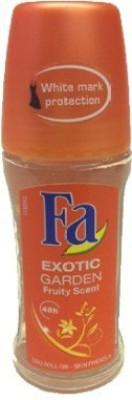 Fa Exotic Garden Fruity Scent Deodorant Roll-on  -  For Men, Women