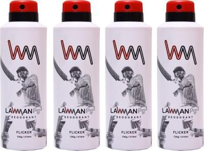 LAWMAN 4 Flicker Deodorant Spray  -  For Men