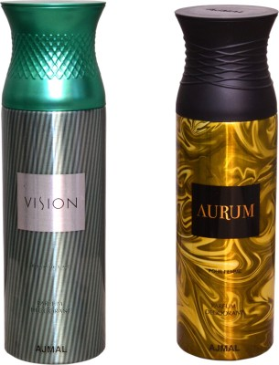 AJMAL 1 VISION::1 AURUM Deodorant Spray  -  For Women