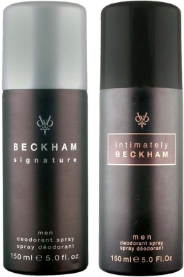 David Beckham Signature and Intimately Deodorant Spray  -  For Men