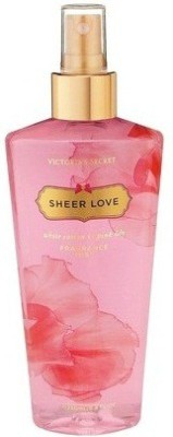 Victoria's Secret Sheer Love Fragrance Body Mist Deodorant Spray  -  For Women