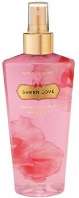 Victoria's Secret Sheer Love Fragrance Body Mist Deodorant Spray  -  For Women