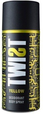 Twist Yellow; A Baba Product Deodorant Spray  -  For Boys, Men
