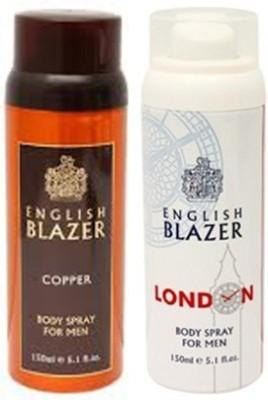 english blazer copper and london Deodorant Spray  -  For Boys
