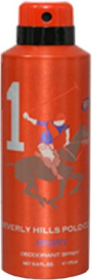 Beverly Hills Polo Club Sport 1 Deodorant Spray  -  For Men