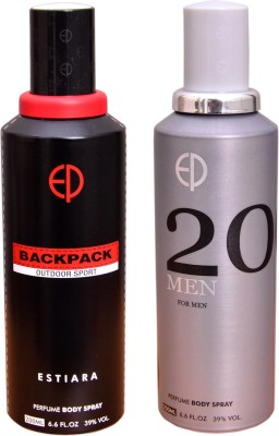 ESTIARA 1 BACKPACK OUTDOOR SPORT::1 20 MEN Deodorant Spray  -  For Men