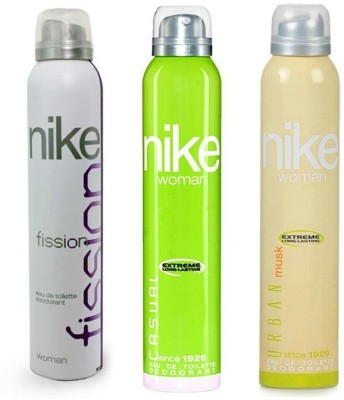 Nike Fission Casual Urban Musk Body Spray  -  For Women