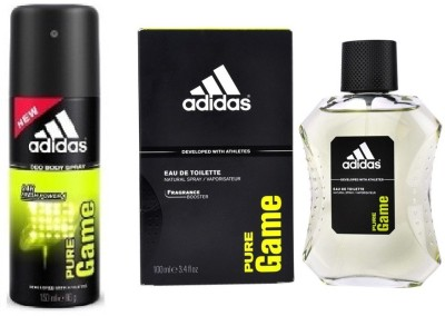 Adidas The Pure Game Combo Body Spray  -  For Boys, Men