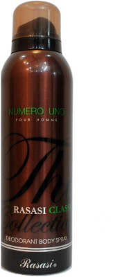 Rasasi Numero Uno Deodorant Spray  -  For Men