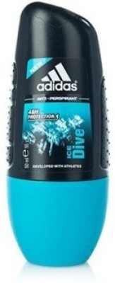 Adidas Ice Dive New Deodorant Roll-on  -  For Boys