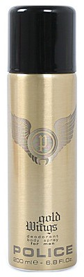 Police Wings Gold Deo Spray - 200 ml