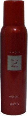 Avon Little Red Dress Body Spray  -  For Women, Girls